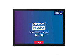 SSD накопитель GOODRAM 240GB  CL100 GEN.2 2.5 SATAIII TLC (SSDPR-CL100-240-G2)