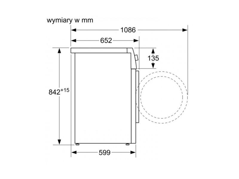 Сушильная машина Bosch WTR87TW0PL цена