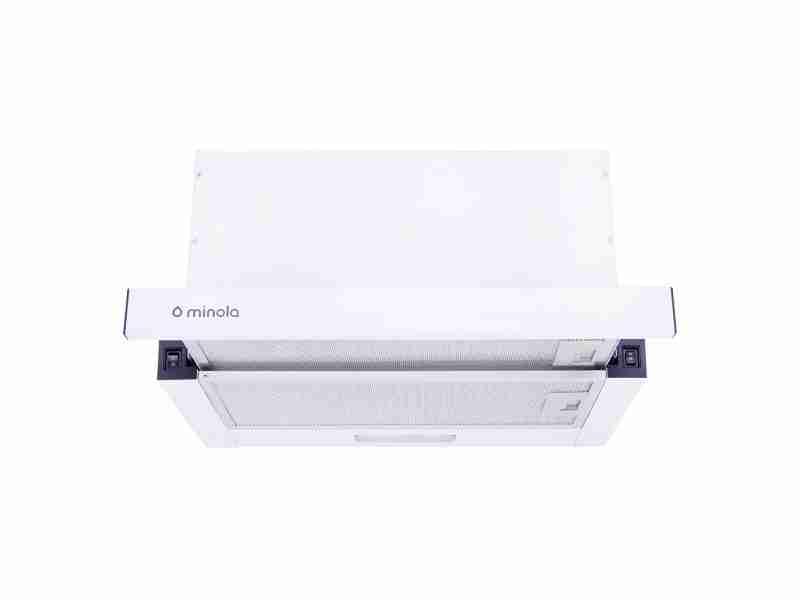 Вытяжка Minola HTL 6814 WH 1200 LED