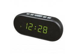 Настольные часы  VST 712-2 Green LED