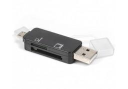 Картридер/USB-хаб Viewcon VE110b Black фото
