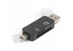 Картридер/USB-хаб Viewcon VE110b Black