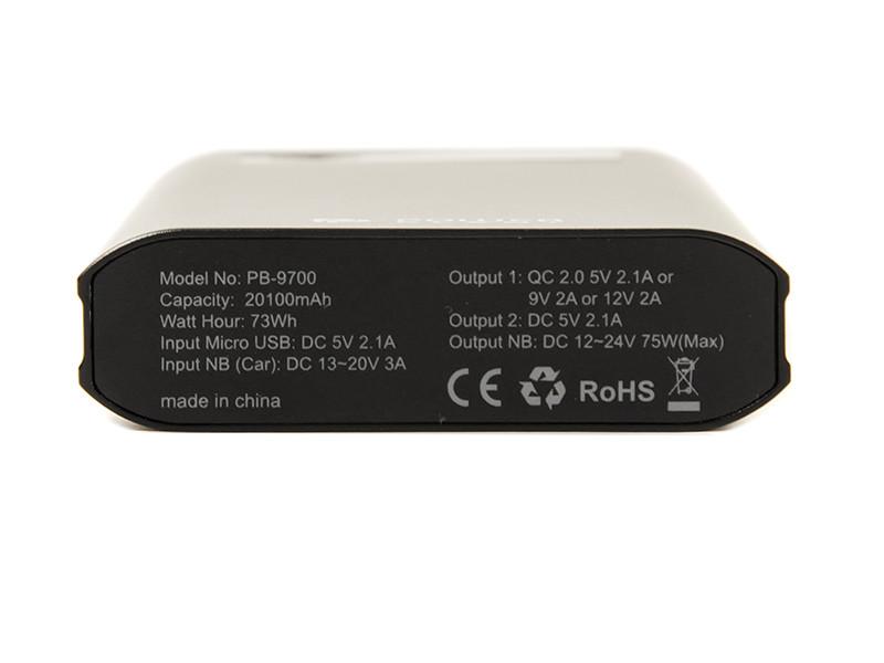 Powerbank аккумулятор Power Plant PB-9700 20100mAh (PB930111) купить