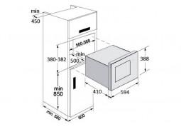 Микроволновая печь Fabiano FBM 26 G Black в интернет-магазине