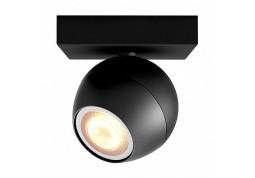 Смарт-светильник Philips BUCKRAM single spot black 1x5.5W 240V ext. (50471/30/P8)