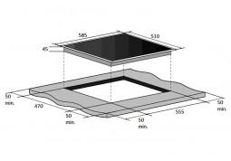 Варочная поверхность Fabiano FHG 10-44 GH-T Black Glass дешево