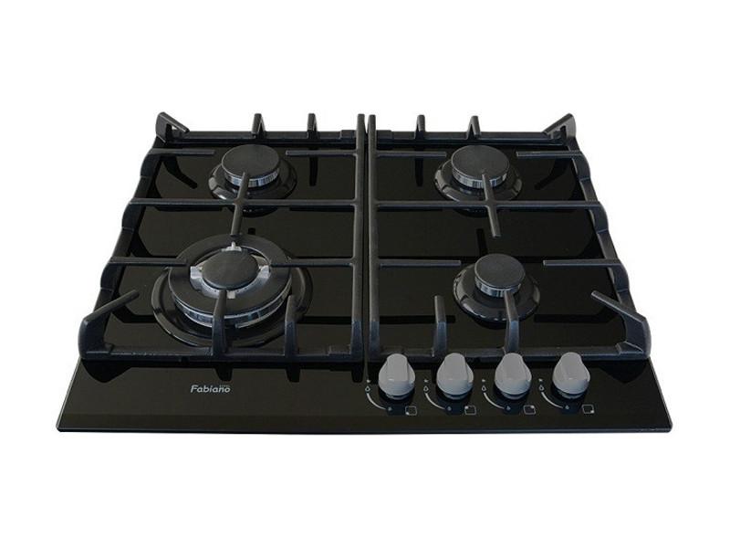 Варочная поверхность Fabiano FHG 10-44 GH-T Black Glass