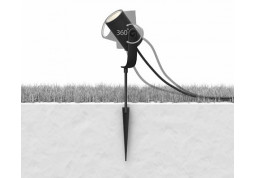 Смарт-светильник Philips Lily spike black 1x8W SELV (17428/30/P7) купить