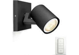 Смарт-светильник Philips Runner Hue single spot black 1x5.5W (53090/30/P7) описание
