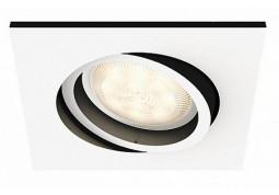 Смарт-светильник Philips MILLISKIN recessed white 1x5.5W 230V (50421/31/P7) цена