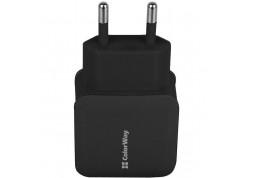 Зарядное устройство ColorWay USB 1 A Black (CW-CHS001-BK) описание