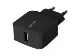 Зарядное устройство ColorWay USB 1 A Black (CW-CHS001-BK)