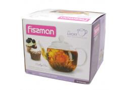 Заварочный чайник Fissman Lucky 0.8 л (9359) стоимость