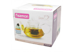 Заварочный чайник Fissman Lucky 0.8 л (9362) дешево