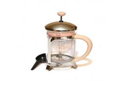 Заварочный чайник с поршнем Fissman Cafe Glace 600 мл (9055)