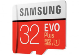 Карта памяти Samsung 32 GB microSDHC Class 10 UHS-I EVO Plus + SD Adapter MB-MC32GA описание