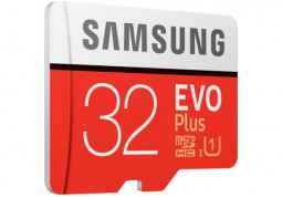 Карта памяти Samsung 32 GB microSDHC Class 10 UHS-I EVO Plus + SD Adapter MB-MC32GA купить
