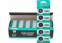 Батарейка Logicpower Lithium CR2016 3V BL 5шт купить