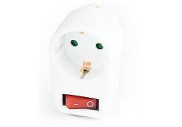 Фильтр в розетку EnerGenie (EG-AC1S-01-W) с выключателем 1 розетка купить
