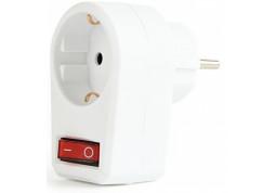 Фильтр в розетку EnerGenie (EG-AC1S-01-W) с выключателем 1 розетка