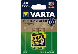 Аккумулятор Varta Rechargeable Accu Endless  2xAA 2500 mAh BLI NI-MH (56686101402)