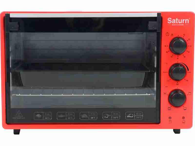 Электродуховка Saturn ST-EC3402 Red