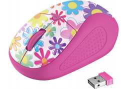 Мышь Trust Primo Wireless Mouse - pink flowers (21481) цена