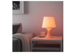 Настольная лампа IKEA Lampan 503.990.64 (светло-розовый) недорого