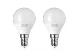 Светодиодная лампа  IKEA LED Ryet E14 200Lm 2шт (703.718.94)