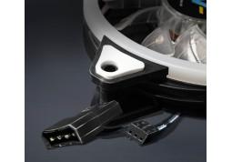 Вентилятор Frime Iris LED Fan Single Ring White (FLF-HB120WSR) дешево