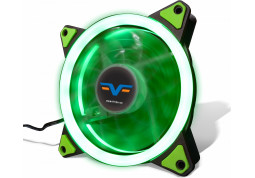 Вентилятор Frime Iris LED Fan Single Ring Green (FLF-HB120GSR)