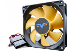 Вентилятор Frime FYF80 Black/Yellow Molex (FYF80HB4)