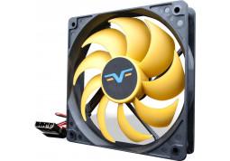 Вентилятор Frime FYF120 Black/Yellow Molex (FYF120HB4)
