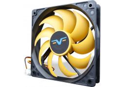 Вентилятор Frime FYF120 Black/Yellow 3-pin (FYF120HB3)