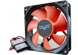 Вентилятор Frime FRF80 Black/Red Molex (FRF80HB4)