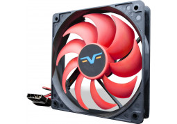 Вентилятор Frime FRF120 Black/Red Molex (FRF120HB4)