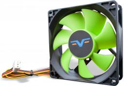 Вентилятор Frime FGF80 Black/Green 3-pin (FGF80HB3)