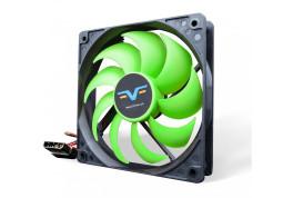 Вентилятор Frime FGF120 Black/Green Molex (FGF120HB4)