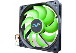 Вентилятор Frime FGF120 Black/Green 3-pin (FGF120HB3)