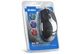 Мышь Sven RX-70 Black USB дешево