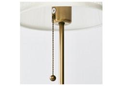 Настольный торшер IKEA Орстид (303.213.73)  латунь / белый дешево