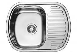 Кухонная мойка Fabiano 63x49 Сатин