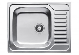 Кухонная мойка Fabiano 65x50 Сатин