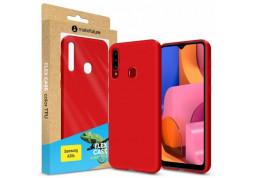 Чехол-накладка MakeFuture Flex для Samsung Galaxy A20s SM-A207 Red (MCF-SA20SRD) отзывы