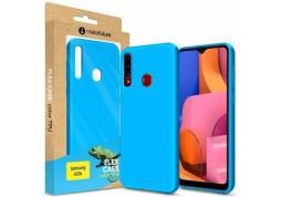 Чехол-накладка MakeFuture Flex для Samsung Galaxy A20s SM-A207 Light Blue (MCF-SA20SLB) дешево