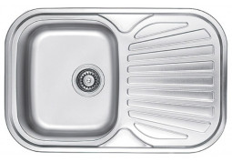 Кухонная мойка Fabiano 74x48 Сатин