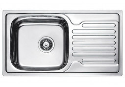Кухонная мойка Fabiano 78x43 Сатин