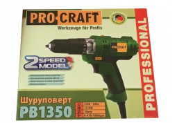 Шуруповерт сетевой Procraft PB-1350 цена