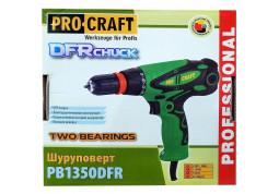 Шуруповерт сетевой Procraft PB-1350 DFR дешево