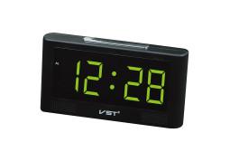 Настольные часы  VST 732-2 Green LED